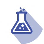 BRTI Life Sciences Beaker Icon Purple