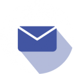 BRTI Life Sciences Mail Icon Purple