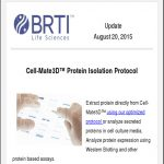 Update August 20, 2015 Newsletter By BRTI Life Sciences